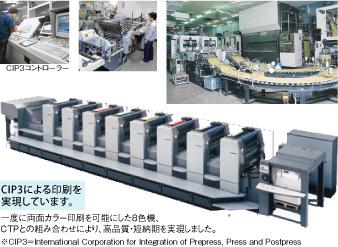 CIP3による印刷を実現しています